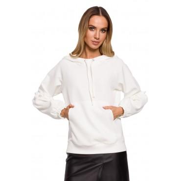Elegants džemperis Moe M609 ecru