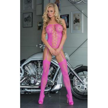 Kaķenes tērps Softline Collection Floweret - Neon Pink 6268