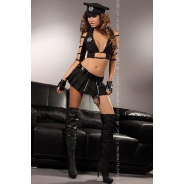 Erotisks policistes kostīms LivCo Corsetti Fashion Kalista
