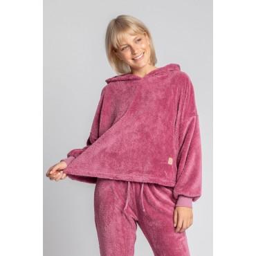 Pūkains džemperis LaLupa LA003 heather
