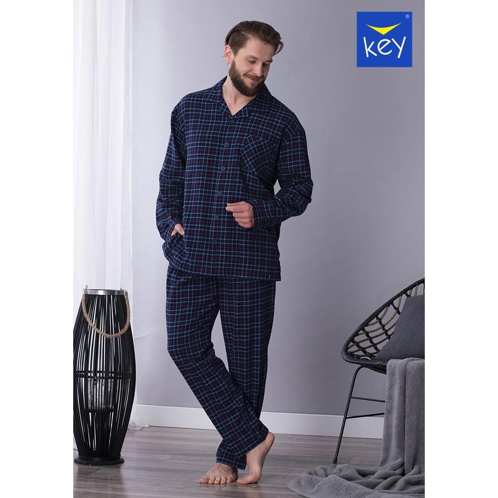 Vīriešu pidžama Key MNS-458 B21 -4XL