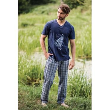 Vīriešu pidžamas bikses Key MHT-444 A19