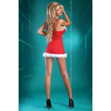 Ziemassvētku kleitiņa LivCo Corsetti Fashion Christmas Honey