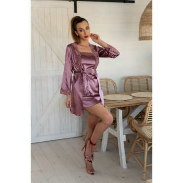 Naktsveļas komplekts LivCo Corsetti Fashion Jacqueline Violet LC 90249