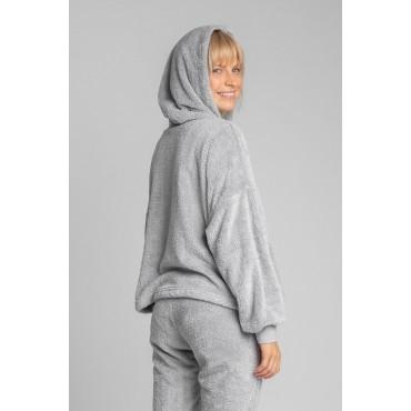 Pūkains džemperis LaLupa LA003 grey