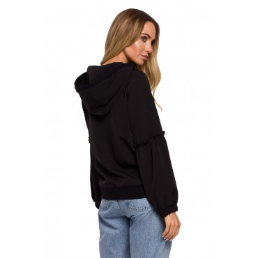 Elegants džemperis Moe M609 black