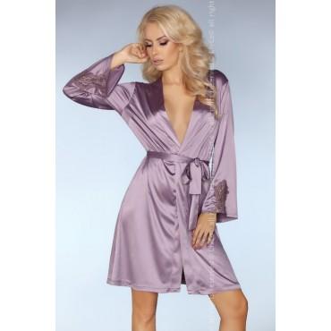 Satīna halāts LivCo Corsetti Fashion Maverick LC 90266 Orchid Collection