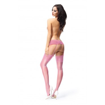 Zeķes missO S101 pink
