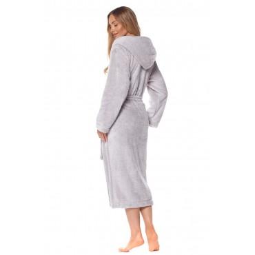 Pūkains sieviešu halāts L&L 2128 Lila