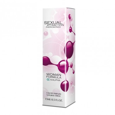 Smaržas ar feromoniem Sexual attraction Woman 15 ml