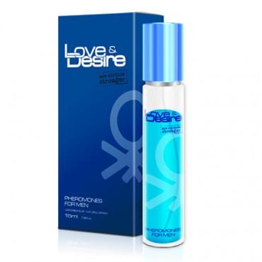 Smaržas ar feromoniem Love&Desire Men 15 ml
