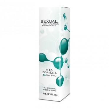 Smaržas ar feromoniem Sexual attraction Man 15 ml