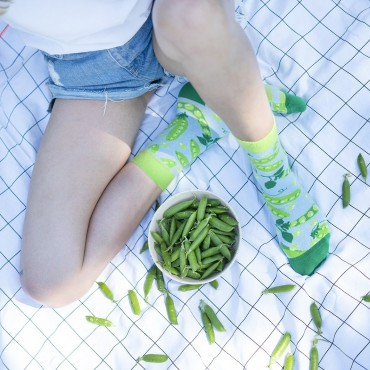 Zeķes Soxo Green Peas